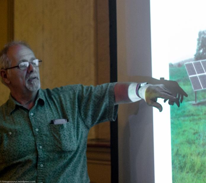 bob pointing solar meeting