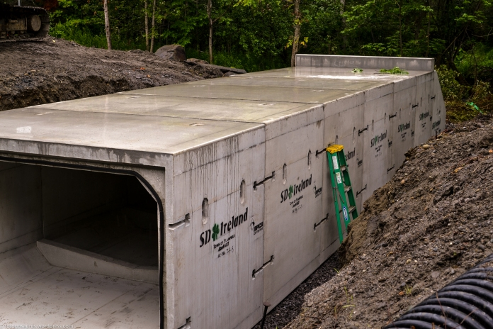 lower road culvert wide