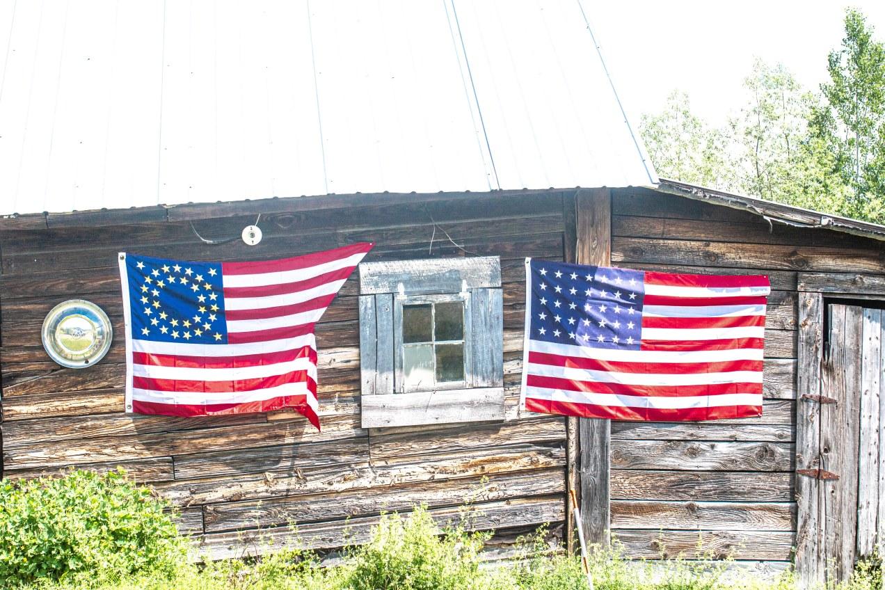 american flag civil war battalion flag
